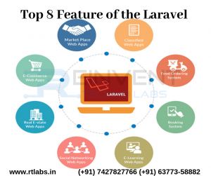 Learn Laravel Features at Rtlabs Jaipur
